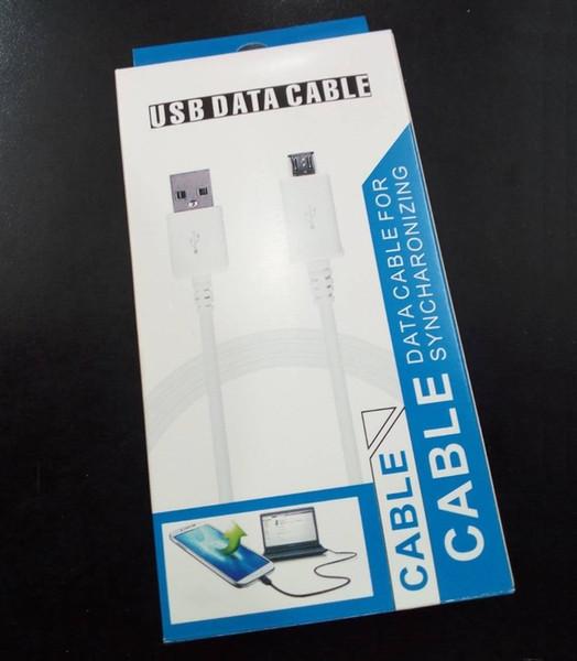 Kaliteli OEM V8 Mikro USB Kablosu Veri senkronizasyonu için Samsung galaxy s4 perakende paketi ile s6 s7 s7 kenar kablo note4 kablosu ...