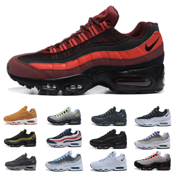 New Cheap Mens air sports running shoes,Premium OG Neon Cool Grey sporting shoes sneakers size 40-45