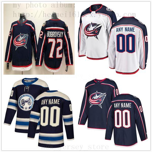promo code 83c0f b139f 2019 Custom Columbus Blue Jackets Hockey Jersey New 17 Brandon Dubinsky 18  Pierre Luc Dubois 91 Anthony Duclair Scott Harrington Joonas Korpisalo From  ...