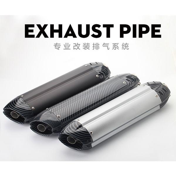 51 MM Moto Exaust pipe Silenziatore Moto auto sportiva con db killer più piccolo diavolo tubo di scarico MIVV Per Honda cb400 ninja 350 GSR65