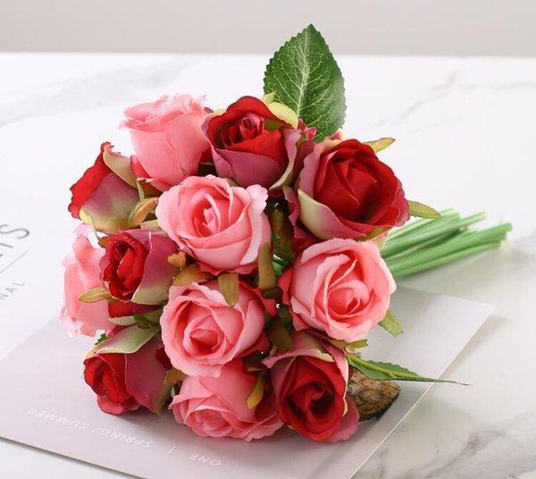 rosa rosso