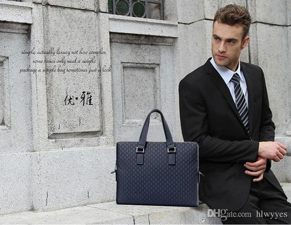 Mode G.S.PATTON Business Mode lässig Leder Herrentasche, Herren Leder, Business Aktentasche, lässig Herrentasche