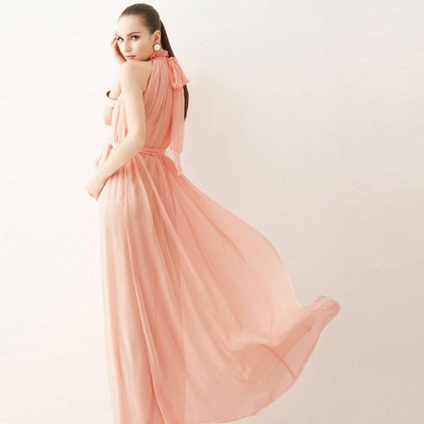 4 Colors Summer Chiffon Maternity Pregnant Women Pregnancy Female Dresses Beach Dressing Clothes Solid Sleeveless