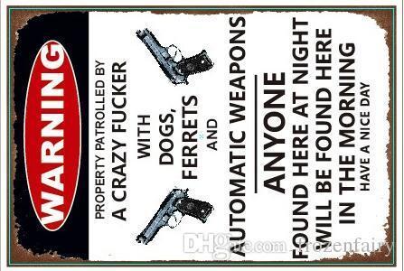 Warnung Lager Hund hier Premium Pilsner Bier Zeit 66 Route Öl Gas Vintage Blechschilder Retro Metal Sign Malerei Dekor The Wall Mixed Designs