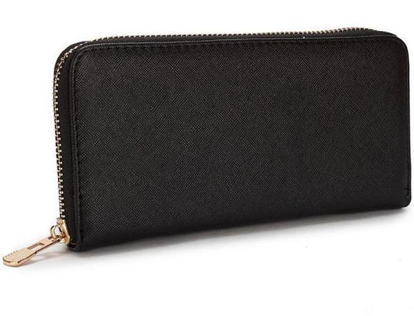 Monedero largo de cuero de las mujeres de la marca clásica de la moda de lujo bolsos de embrague Satchel Totes Hobos Unisex bolsas Billetes