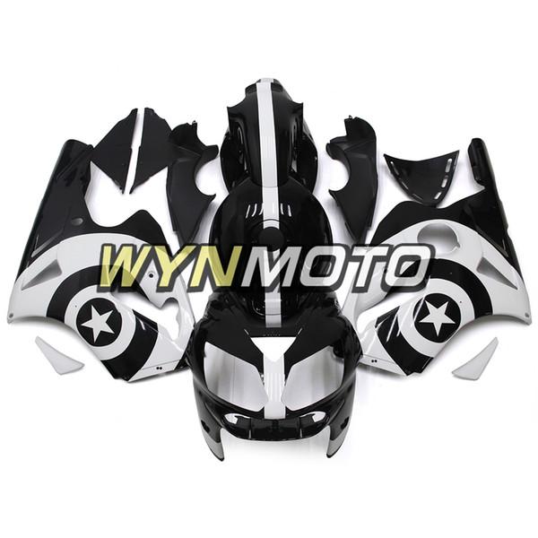 ABS-Kunststoff-Motorrad Vollverkleidungen für Kawasaki ZX12R ZX-12R 2002 - 2006 03 04 05 NINJA ZX-12R 02-06 Einspritzverkleidungen Glanz Schwarz Weiß