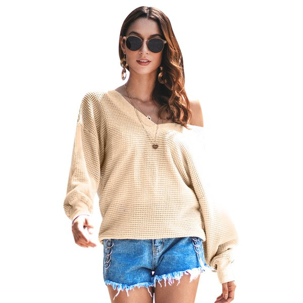 New Product Suit-dress 2018 Autumn And Winter Long Sleeve Knitting Unlined Upper Garment Sweater A Piece free shipping sweaters for women