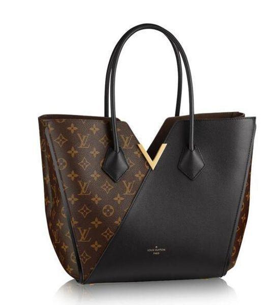 Mng Kimono Mm Noir M40460 New Women Fashion Shows Shoulder Bags Totes Handbags Top Handles Cross Body Messenger Bags