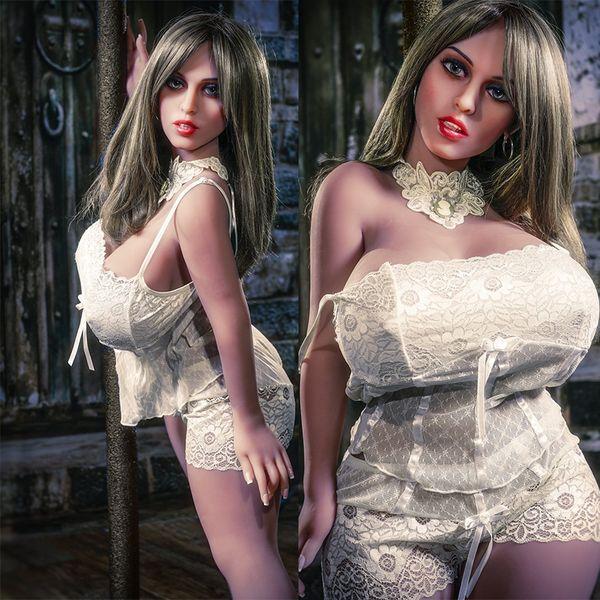 Sexy grandes peitos enormes grande boneca ass sexo real realista realista tamanho completo beleza bonito menina americana silicone TPE boneca sexual