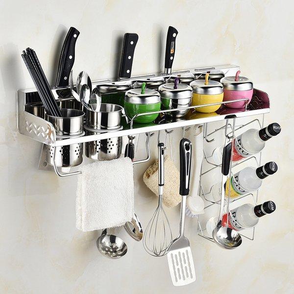 Acquista Mensola In Acciaio Inox 304 Mensola In Legno Cucina A $31.42 Dal  Freedmm   DHgate.Com