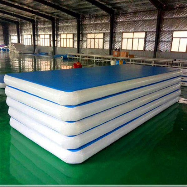 Free Shipping 400x100x20cm Inflatable Air Track Air Floor Mats Tumble Track Gymnastics Cheerleading Mat Trick Pad For Home Use
