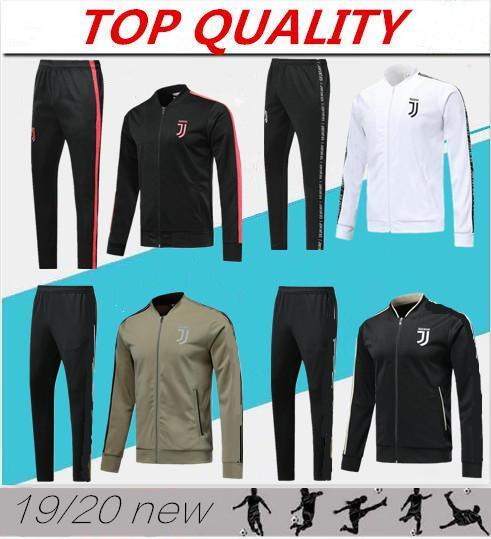 Высочайшее качество 2019 2020 Спортивные костюмы Juventus для футбольного трикотажа 18 19 20 свитер RONALDO DYBALA MANDZUKIC футболка Chandal