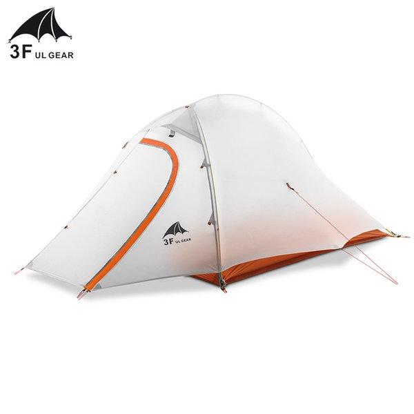 3F UL МЕХАНИЗМ ZhengTu2 Сверхлегкая палатка 15D Нейлон 3 или 4 сезона Открытый против ветра Ветер Палатка 2 Человек Зимний отдых