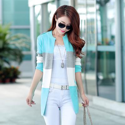 blue sweater knitted