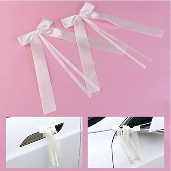 50pcs/pack Delicate Wedding Pew End decoration Bowknots Ribbon Bows Party Cars Chairs Decoration Bowknots PC894808 C18122201
