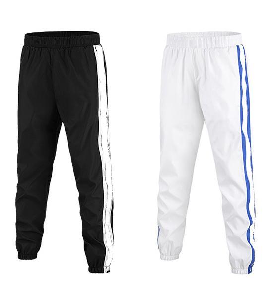 Pantalones de diseñador para hombre Estilo deportivo Casual Pantalones largos regulares relajados Marca de moda Pantalones ligeros de primavera verano 2019 Nueva llegada S-2XL