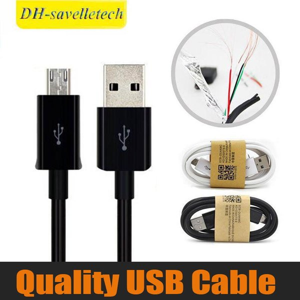 Cabo micro USB V8 V9 1M 3FT Sync Data Cable 3.0 Carregador de fio de carregamento para Galaxy S4 S5 Nota 3 Nota 4 Alta qualidade DHL Frete grátis