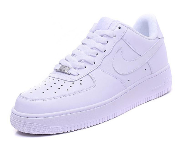 Nike air force 1 Flyknit Utility Großhandel 10X Forces Low Airs Kissen 1 Eine Laufschuhe für Männer Die Pure White Sports Trainer-Frauen-Schuhe US5.5-11 J6