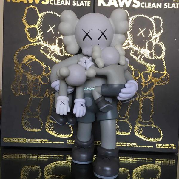 15 Inch Kaws Creative Hold The Child BB Companion Street Art Brian Original Fake Art Craft PVC Action Collectible Model Toy 38CM BOX G224