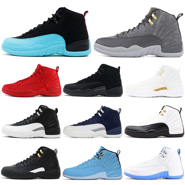 Classic 12 12s Basketball Shoes Boots Size 7-13 Mens Trainer Bordeaux Bulls Wolf Grey CNY Athletic Sports Sneakers Outdoors Drop Shipping