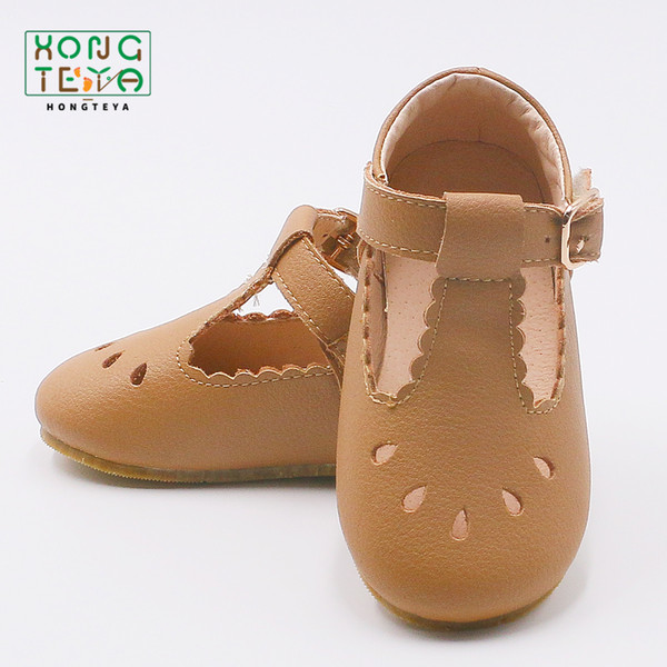 2019 fashion Girls sandals Handmade laciness Baby sandals Kids shoes Princess shoes Children Sandals genuine leather