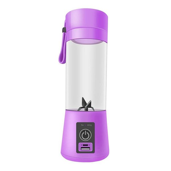 Portable Mini Juicer 380ml Multi-function Automatic Juicer 24*6cm USB Juice Cup PV And Silicone Kitchen Appliance 1 Piece DHL