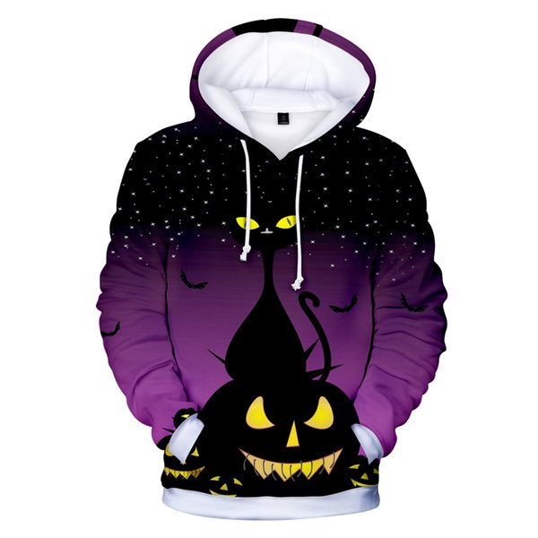 new 2019 Happy Halloween 3d Hoodies Men/women Fashion Hot 3d Print Harajuku Autumn High Quality Men's Hoodies And Sweatshirt