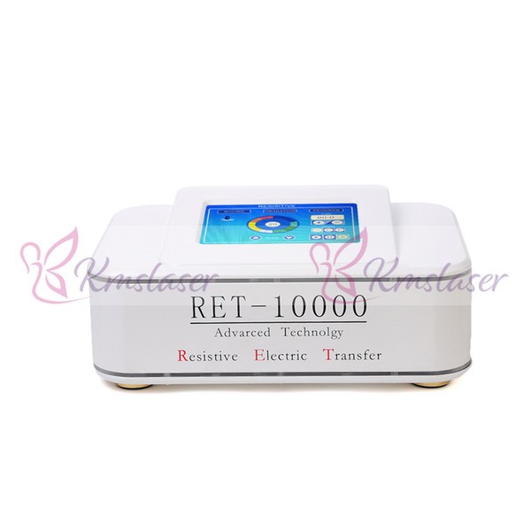 Spanish technology RET Fraction RF machine with 3 pieces handles for face lift wrinkle removal body slimming weight losss machine