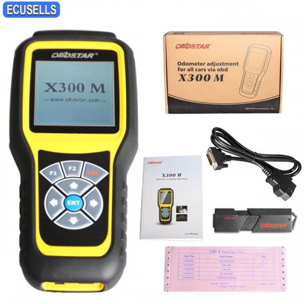 OBDSTAR X300M Special for Odometer Adjustment and OBDII Support for Mercedes Benz & MQB VAG KM Function Odometer Adjustment Tool