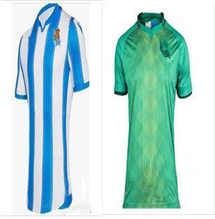 Freies Verschiffen 2019 2020 Real Sociedad Fußball Jerseys 19 20 Haus weg Fußballhemd maillots de foot Keine Kundenbezogenheit