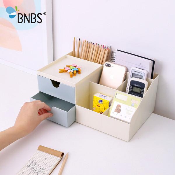 Bnbs Office Multipurpose Desktop Sundries Storage Small Drawer Makeup Lipstick Organizer Box Plastic Jewelry Cosmetic Container J190713