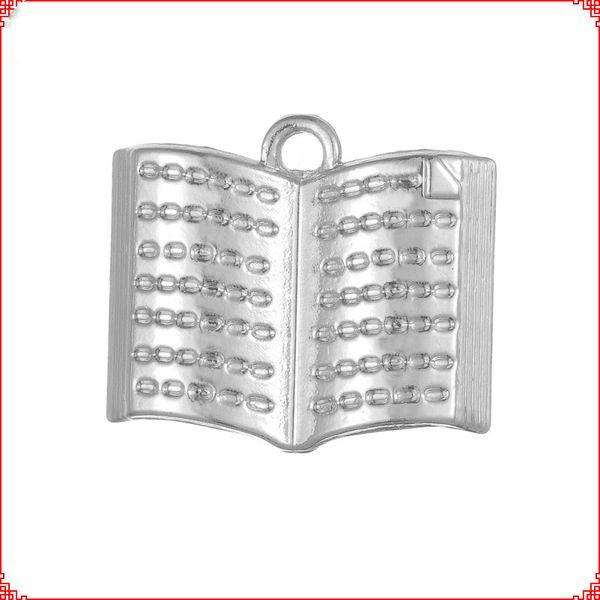 30pcs Antique vintage Tibetan silver Bible book charms metal dangle alloy pendants for necklace bracelet earring diy jewelry making