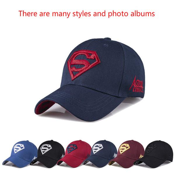 Superman Cap Letter Casquette Superman Baseball Cap Men Brand Women Bone Diamond Snapback For Adult Trucker Hat Free Shipping