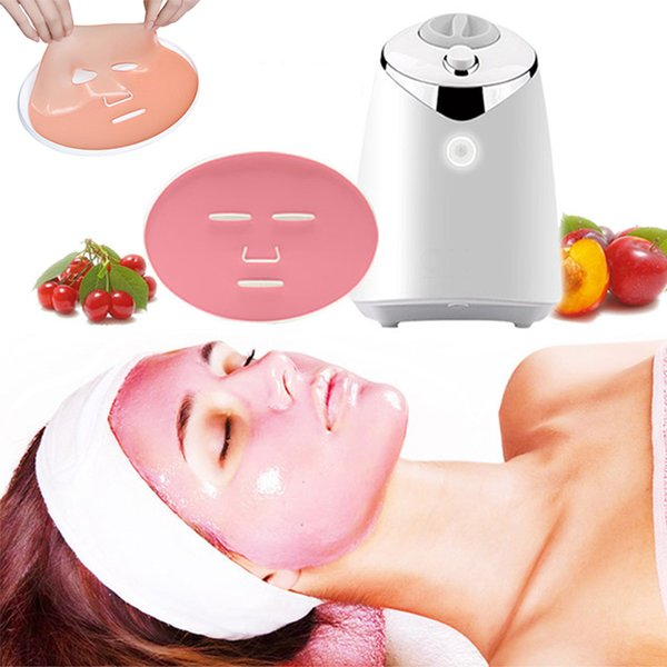 New Arrival Fruit Face Mask Machine Maker Automatic DIY Natural Vegetable Facial Skin Care Instrument With 32PCS Collagen With Retail Box