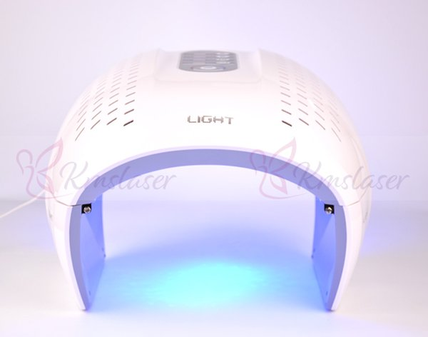 Portable 4 colors 640nm red 430nm blue 830nm infrared photo facial led light therapy anti aging pigment removal acne removal spa machine