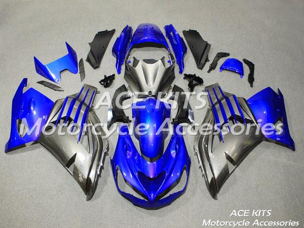 Novo kit de kit de molde de injeção para KAWASAKI Ninja ZX14R ZZR1400 2012 2013 2014 2015 ZX14R 12 13 14 15 Ele vem em todas as cores A14