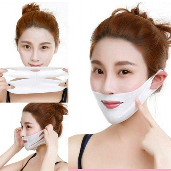 Gesichtsdünne Gesichtsmaske, die Verband-Haut-Obacht-Gurt-Form-Aufzug abnimmt, verringern Doppelkinn-Gesichtsmaske-Gesicht, das Band RRA938 ausdünnt