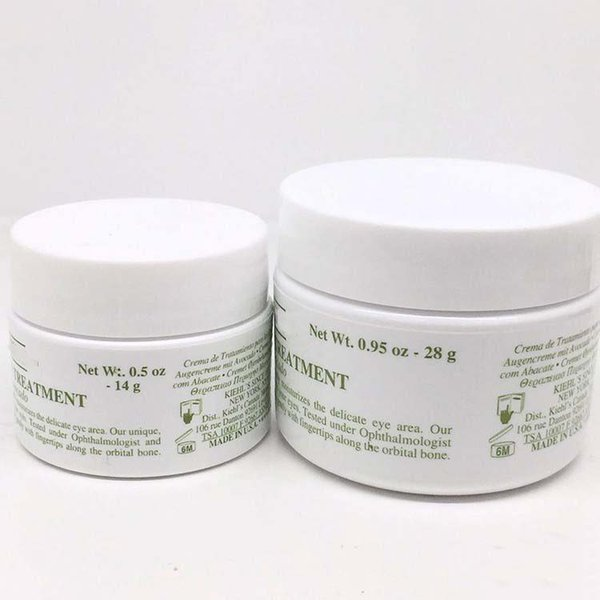 KIEHL Creamy Eye Care Cream with Avocado Wt28g Replenishment Fade dark circles Pure natural plant Avocado Night cream for free DHL shippin