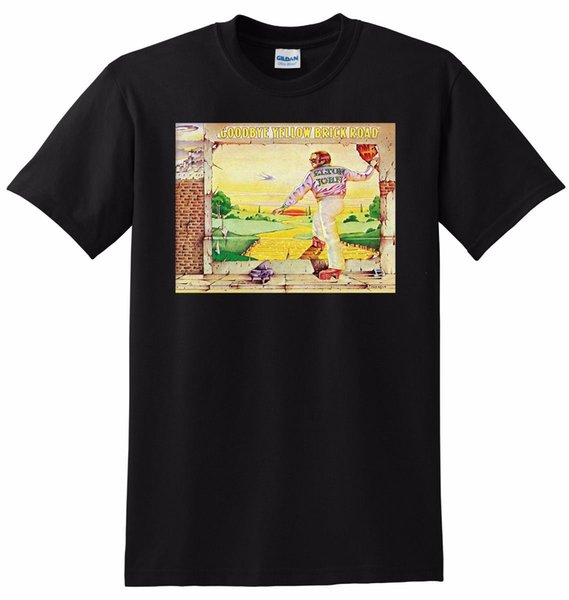 41faab80360 ELTON JOHN T SHIRT goodbye yellow brick road SMALL MEDIUM LARGE or XL