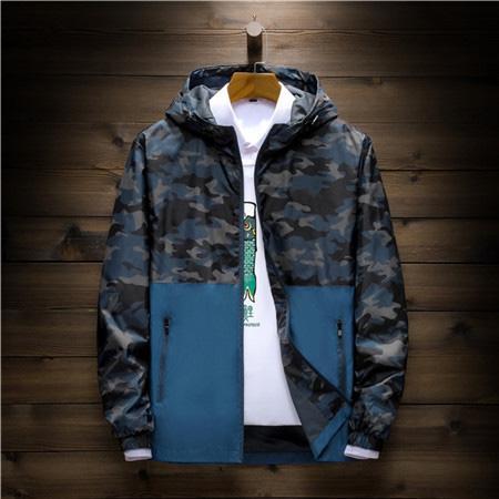 Designer Wholesale Mens Women Designer Windbreaker Spring Autumn Zipper Hoodies Fashion Sports Jackets Gym Running Coats Size L-5XL B100103Q