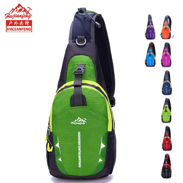 One package of postal, New style, men and women versatile waterproof nylon satchel, chest bag, outdoor sports and leisure bag