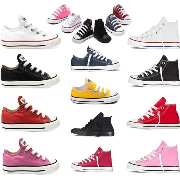 Bébé Chaussures Enfants Marque Toile Chaussures Sport Sneaker Enfants Premiers Marcheurs Semelle Souple Prewalker Mode Casual Chaussures De Plein Air Chaussures MMA1823