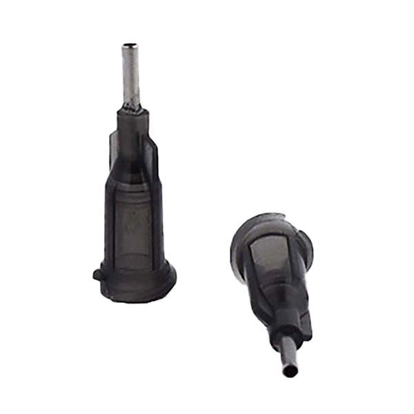 top popular wholesale 16G W  ISO standard Dispensing needles PP luer lock hub 0.25-inch tubing length precision S.S. dispense blunt tips 2021