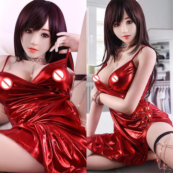 135cm réaliste poupées de corps plein de sexe avec squelette en métal adulte poupée orale d'amour vaginal réel chatte faux produit de sexe de cul de cul jouets pour hommes