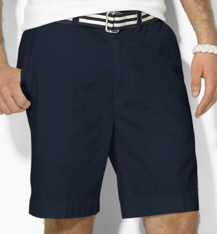 Küresel Amerika Tasarım Erkekler Polo Rahat Şort Küçük Midilli Nakış Zip Fly Plaj Kısa Pantolon Golf Mayo M-2XL Siyah Beyaz Mavi Pembe