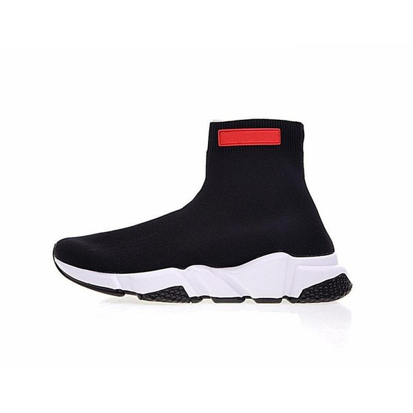 Designer fashion Shoes for women men Speed Trainer Black Red Triple Black Flat Fashion Socks Boots mens Sneaker Speed Trainer Runner