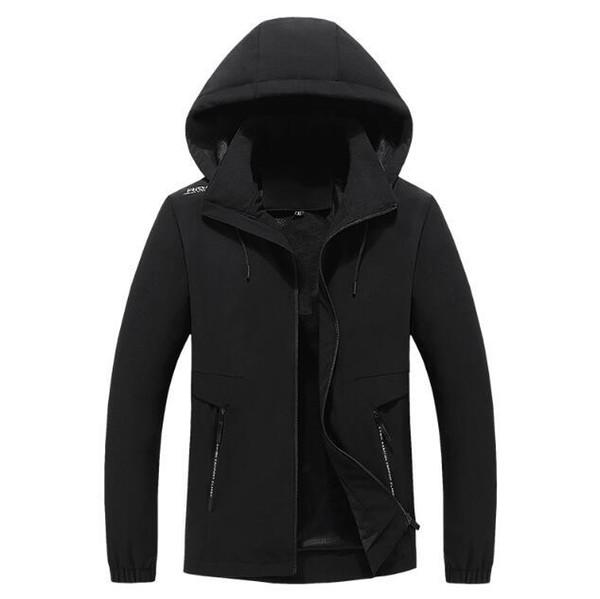 Coats Mens Hoodies Adult 100% Cotton Sports Coats Mens And Womens Pure Color Hoodies Size L-4XL Winter Coats Spring Autumn hf61207