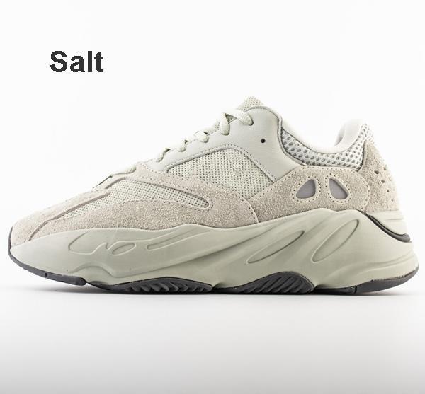 Promosyon Dalga Koşucu 700 Statik Koşu Ayakkabıları Ile Katı Gri Spor Kadın Erkek 700 s Sneakers 36-45 Kutusu