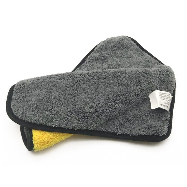 Microfiber Washing Drying Towel Car Care Polishing Wash Towels Strong Thick Plush Polyester Fiber Car Cleaning Cloth