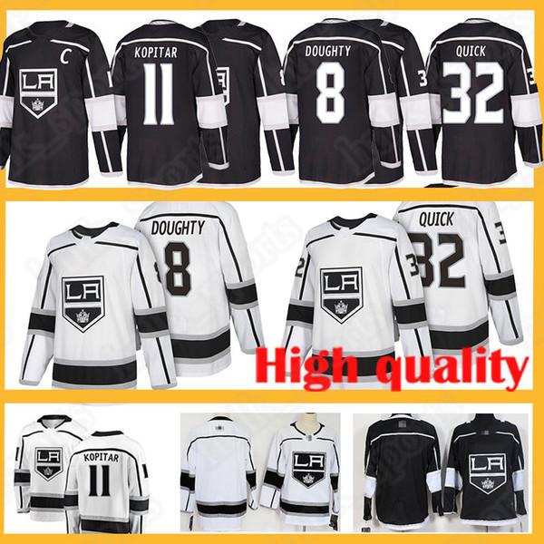 8 Maglia Drewty Jersey Maglia Los Angeles 32 Jonathan Quick 11 Anze Kopitar 99 Maglia Wayne Gretzky 2019 nuova uniforme